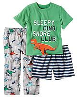 Пижамный комплект Carters из 3-ех единиц; 7, 8 лет