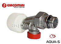 """Клапан радиаторный ручной (регулирующий) осевой DN 1/2""""X18 CH Giacomini"""