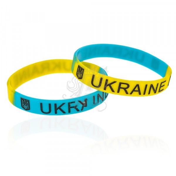 4b861dd9c58365 Набор браслетов на руку Ukraine 12946 силиконовых 12 шт, цена 48  грн./набор, купить в Киеве — Prom.ua (ID#18213166)