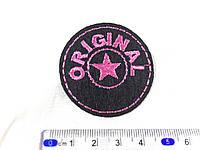 Нашивка  original розовый
