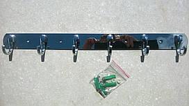 Вешалка на шесть крючков 0356