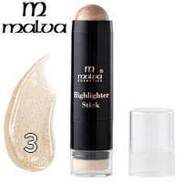 Хайлайтер-стик со спонжем Highlighter Stick Malva M-484 тон 03