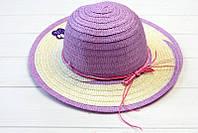 Изумительная плетенная широкополая шляпа Макади c милыми нашивками