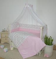 Постельный комплект для новорожденных Greta Lux - Принцесса 7эл.