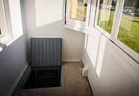 Как сделать погреб под балконом первого этажа? (интересные статьи)