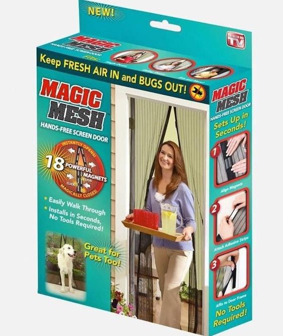 Москитная сетка на магнитах Magic Mash 210*100