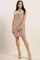 Короткое летнее платье ЛАЙМ латте ТМ Ри Мари 44-46 размеры