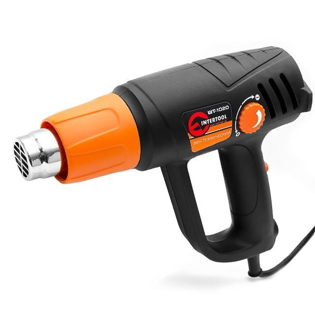 Фен технічний для випалу INTERTOOL WT-1020