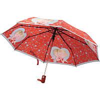 Cтильный надежный зонт Kite, полуавтомат, складывается в три сложения  Gapchinska