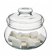 Сахарница стекло прозрачная Турция