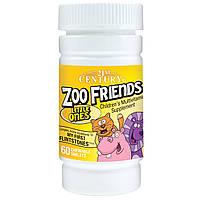21st Century, Zoo Friends, маленькие, мультивитаминная добавка для детей, 60 жевательных таблеток