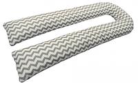 Подушка для беременных U-образная (с наволочкой).