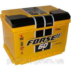 Аккумулятор Forse 6СТ-60Аз левый +