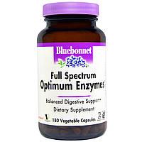 Bluebonnet Nutrition, Оптимальные ферменты, 180 капсул на растительной основе