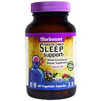 Bluebonnet Nutrition, Целенаправленное выбор, поддержка для сна, 60 вегетарианских капсул