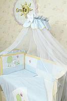 Детское постельное белье в кроватку GreTa Lux - Игрушка 7эл.