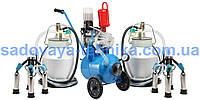 Доильный аппарат масляный Буренка-2 Нержавейка 3000 (стаканы с нержавеющей стали)
