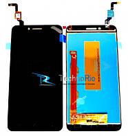 Модуль Дисплей Lenovo A6020 Vibe K5 Plus, Lemon 3 с тачскрином, черный