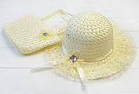 Шляпа и сумка для девочки