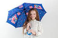 Cтильный надежный зонт-трость полуавтомат Kite, полуавтомат  2001 My Little Pony