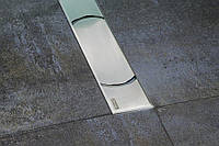 Душевой канал  OZ RAVAK Chrome 850 - нержавеющая сталь