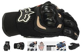Защитные мото перчатки с костяшками Fox Probiker мотоперчатки