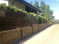 Забор штакетный металлический стандарт 2,5м*1,8м,Купить в Херсоне
