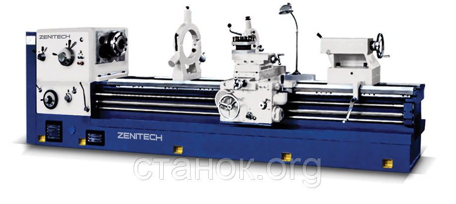 Zenitech WL 630-1200 токарный станок по металлу токарно-винторезный верстат 16к20 дип300 1м63, фото 2