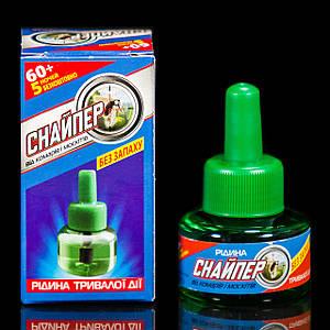 Жидкость от комаров и москитов 65 ночей Снайпер