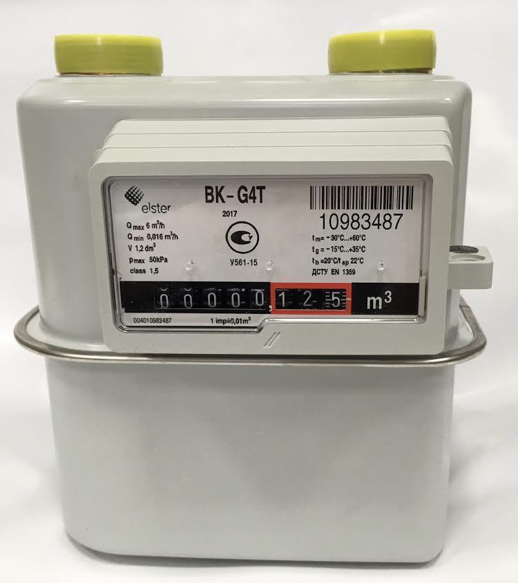 счетчик газовый эльстер вк g 4 цена
