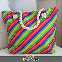 Женская яркая тканевая сумочка