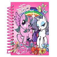 Блокнот А6 KITE My Little Pony LP17-222 (80 листов), спираль сбоку