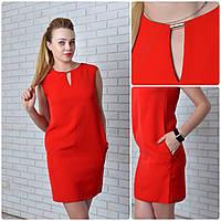 Платье (747) красный, фото 1