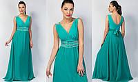 """Красивое вечернее платье """"Злата"""" размер 42-48"""