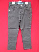 Модные серые джинсы для мальчика 104-128