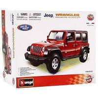 Авто-конструктор Jeep Wrangler Bburago