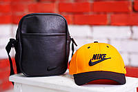 Желтая бейсболка мужская найки (Nike), кепка