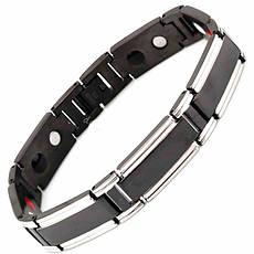 Магнитный браслет Делюкс black