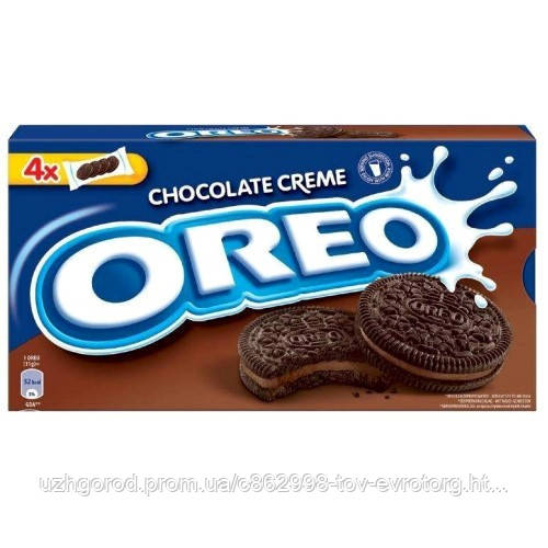 Печенье OREO Chocolate Creme 176г.
