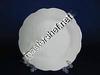 Тарелка белая №7 R 18см.