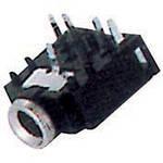 Гніздо 3,5 стерео (монтажне з відключенням 5-pin) (VK10247)
