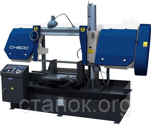 Zenitech CH 500 ленточнопильный станок по металлу автоматический зенитек цш 500, фото 2