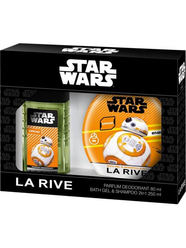 Подарочный набор для мальчиков, La Rive Disney Star Wars 50& 250ml
