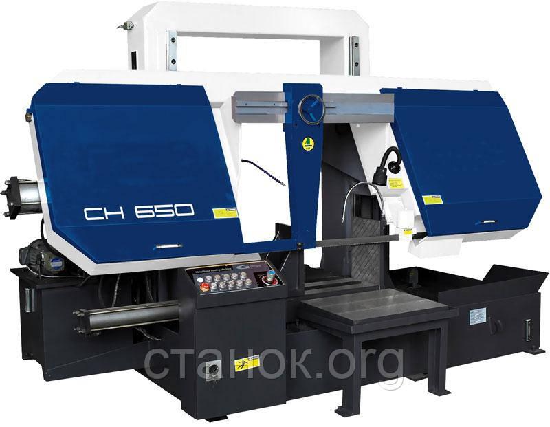 Zenitech CH 550/650 Двухколонный ленточнопильный станок зенитек цш 550/650