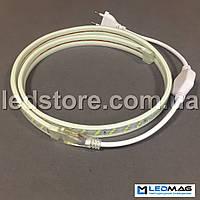 Светодиодная лента 220В 2835/180 IP68