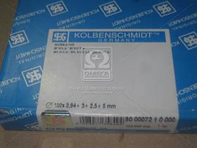Кольца поршневые DEUTZ 102.0 (2,94/3/2.5/5) BF6L913C (пр-во KOLBENSCHMIDT)
