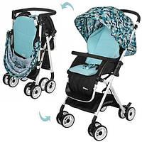 Детская прогулочная коляска Голубая (HC300-BLUE), фото 1