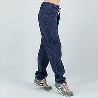 Женские спортивные штаны синие Nike батал 50-52