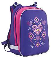Каркасный школьный рюкзак H-12 Ornament