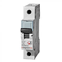 Автоматический выключатель TX3 10А 1п 6кА C (автомат) Legrand Легранд